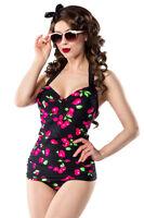 Costume Da Bagno Bikini Costume Intero Laccio Al Collo Ciliegie Vintage Retrò - inter - ebay.it