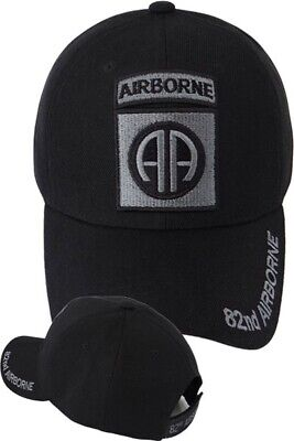 US Army 82nd Airborne Division Ball Cap Vietnam Gulf OEF OIF Veteran Hat SUBDUED