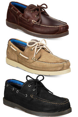 Eye Lace Up Shoes (Timberland Mens Piper Cove Two-Eye Lace Up Moc Toe Casual Boat Shoes)