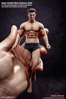 TBLeague1/12 Male Body & Head Model TM01A Flexible Action Figure Doll Toy