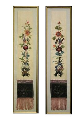 PAIR OF STOLES ANCIENT, CHINESE, END '800 BEGINNING '900 / / ANCIENT