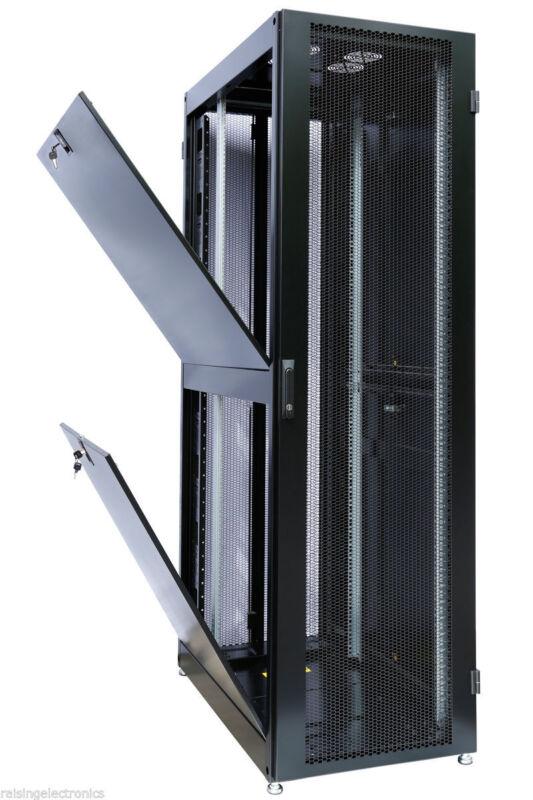 """42U Rack Mount Internet/Network Server Cabinet 960MM (39.5"""") Deep w/ server fan"""