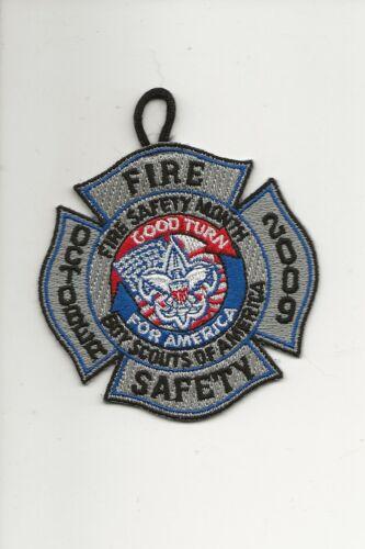 FIRE  SAFETY  Patch / GOOD TURN - Boy Scout BSA A132/7-24