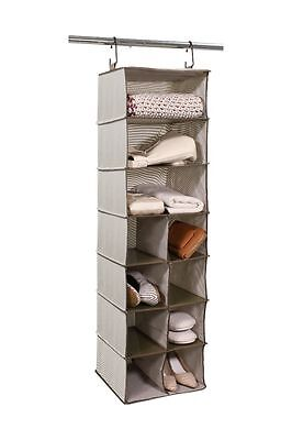 Tidy Living - 3+8 Compartment Organizer - Closet Hanging Storage Organizer Cubes