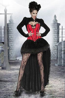 Karneval Damen Vampir Kostüm L Fasching Halloween Gothic