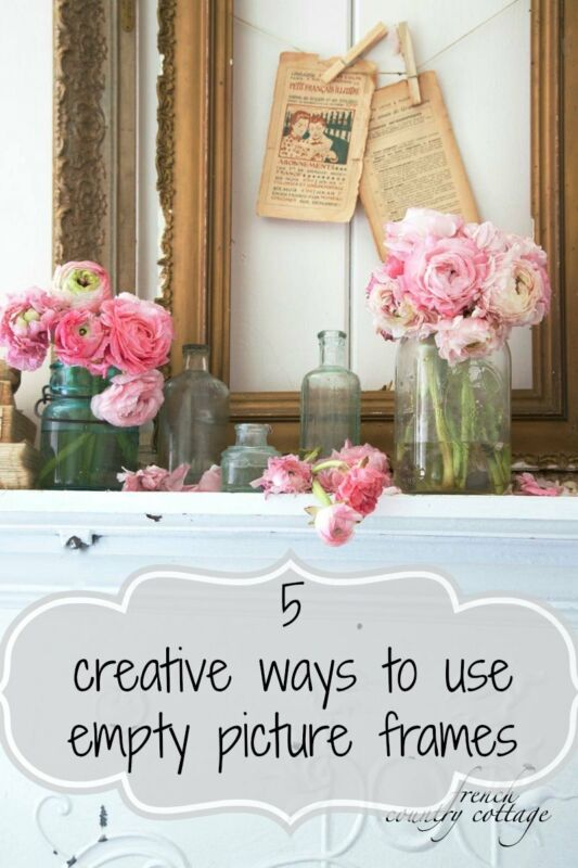 5 Creative Ways To Use Empty Picture Frames Ebay