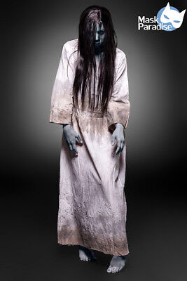Gruseliges Girl Kostüm Gothic Fasching Karneval Damen Verkleidung Halloween NEU