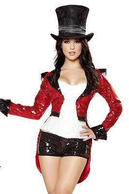 Zirkus Dompteur Kostüm Größenwahl S M L komplett Fasching Karneval -