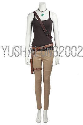 Tomb Raider Lara Croft Cosplay Kostüm costume Film Spiel Outfit Halloween - Tomb Raider Cosplay Kostüm
