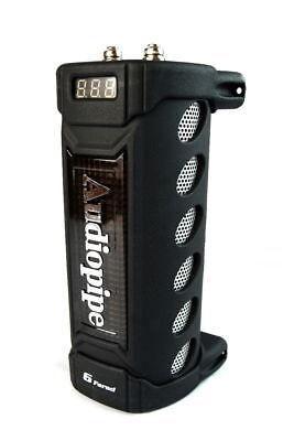 6 Farad Digital Capacitor VDC: 20V Max 24V Surge ACAP-6000 Audiopipe ()