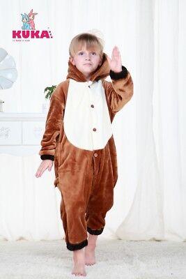 Kuka BCN Horse Onsie Pajamas Boys Girls Children's Kids Medium Warm for sale  Sears