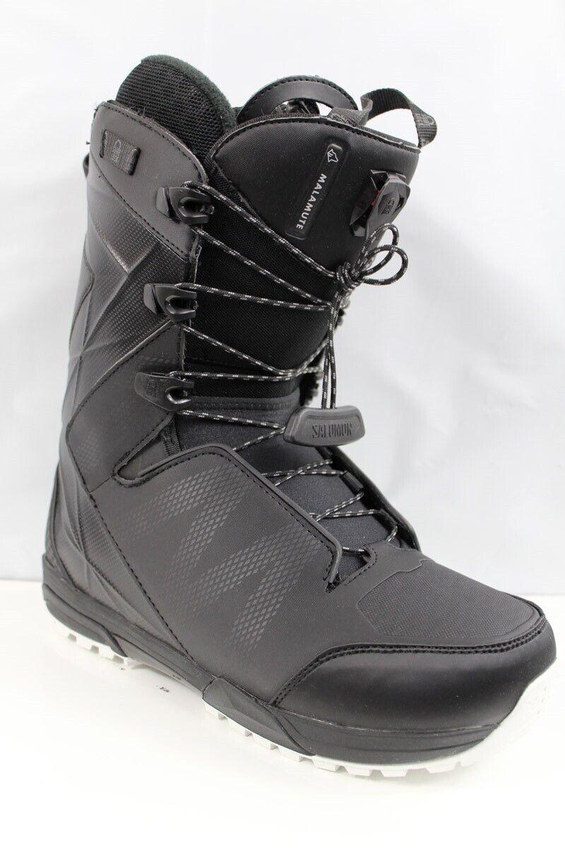 Salomon Malamute Snowboard Boots Men's Size 9.5 Black New 20