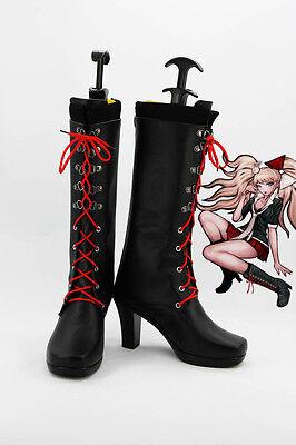 Danganronpa Enoshima Junko Cosplay Schuhe Kostüm Shoes Damen Stiefel Boots Neu