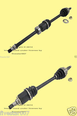2 Front Left+Right CV Axle Shafts_Drive Driveshafts_for Mini Cooper_Manuals R50