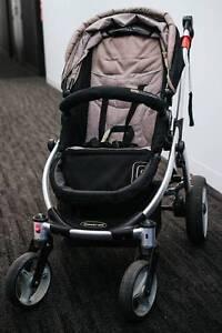 Steelcraft Cruiser (pram/stroller) + Capsule (infant carrier) Richmond Yarra Area Preview