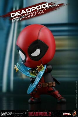 Hot Toys Cosbaby Deadpool Bullet Deflecting Version Figures COSB507 Dolls Model