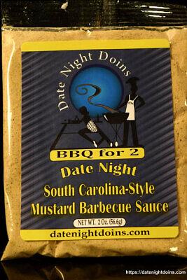 Date Night Doins South Carolina Style Mustard Barbecue Sauce ()
