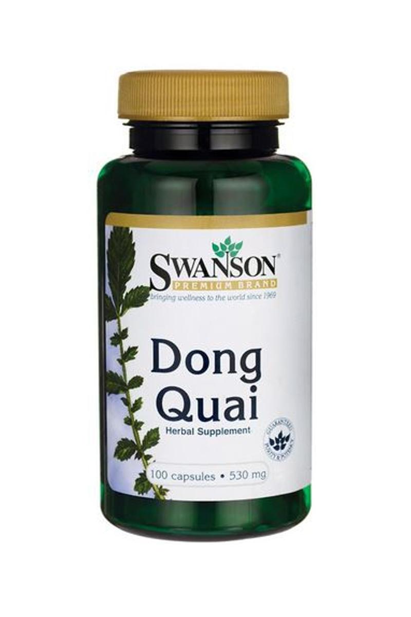 Swanson Dong Quai Chinesische Engelwurz gegen Entzündung Antibakteriell 100 Kap.