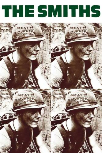 THE SMITHS MEAT IS MURDER POSTER NEW  !