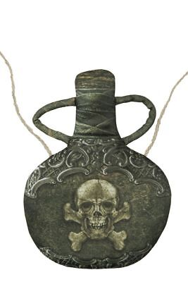 WIL - Kostüm Zubehör Tasche Handtasche Trinkflasche Rumflasche Pirat