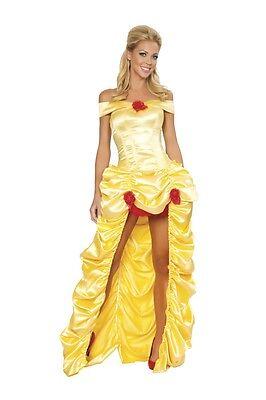 Sexy Adult Woman Deluxe 3pc Fairytale Princess Costume Mardi Gras, Carnival (Fairytale Princess Costume Adults)