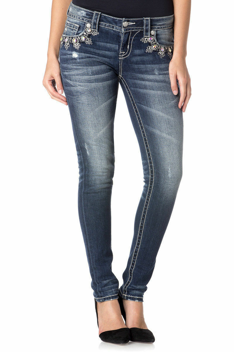 Mid-Rise Skinny Relaxed Boot Capri Miss Me You Choose Junior Jeans NWT