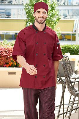 Uncommon Threads Chef Jacket Coat HAVANA w/Tonal Mesh -