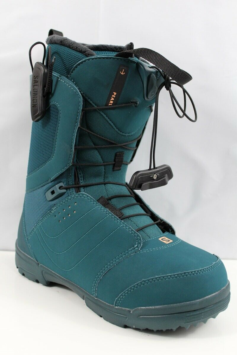 Salomon Pearl Snowboard Boots Women's 7.5 Deep Teal New 2020