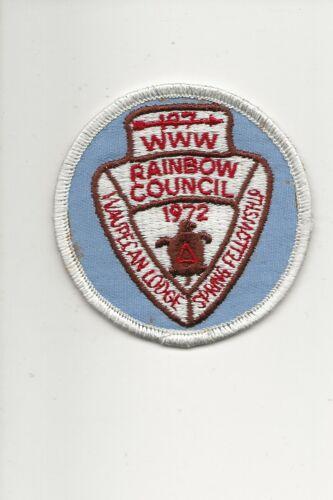 WAUPECAN  OA Lodge 197 / 1972 SPRING FELLOWSHIP - Boy Scout BSA A132/8-8