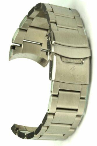 Vandenbroeck & Cie. Ersatzband Edelstahl mattiert - 24 mm Uhrenarmband Uhrband