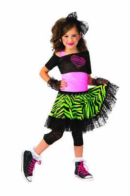 Rubies 80s Material Girl Madonna Pop Star Childrens Halloween Costume (Madonna Kostüm Material Girl)