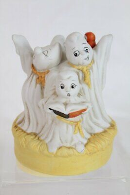 Halloween Carols Music (Vintage Caroling Ghosts Music Box Halloween House of Lloyd SEE)
