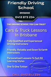 ✅  FRIENDLY DRIVING SCHOOL🔑 CARS & TRUCK LESSONS IN BRISBANE★★★★