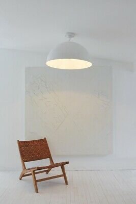 Project 62 Leanne Ford Frank Large Pendant Light Aged white Finish 19.5
