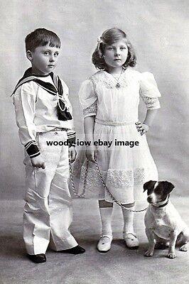 mm954 - Prince Rupert & Princess May of Teck - photo 6x4