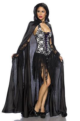 sexy Vampir Kostüm Fasching Karneval Vampirkostüm  Mottoparty - Horror Motto Party Kostüm