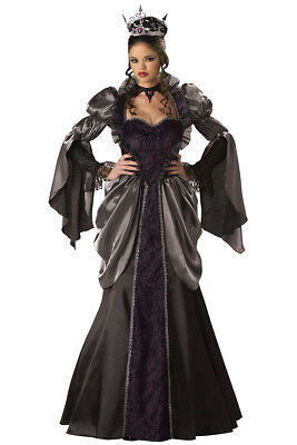 NWT Wicked Evil Queen Deluxe Halloween Costume for Women Size M (8-10) - Evil Costumes For Halloween
