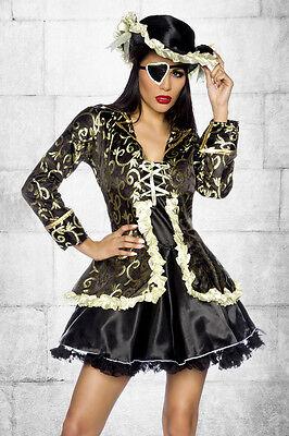 Piratenkostüm Damen 5-teilig f. Erwachsene* NEU Mottoparty Fasching, Gr. S - XXL