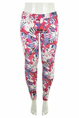 Under Armour Women Activewear Pants & Capris LG Pink Polyester