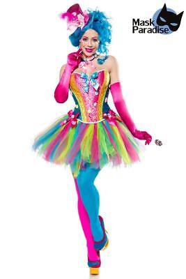 Märchen Candy Girl Kostüm Karneval Fasching -Damen-7-teiliges S M L XL XXL XXXL