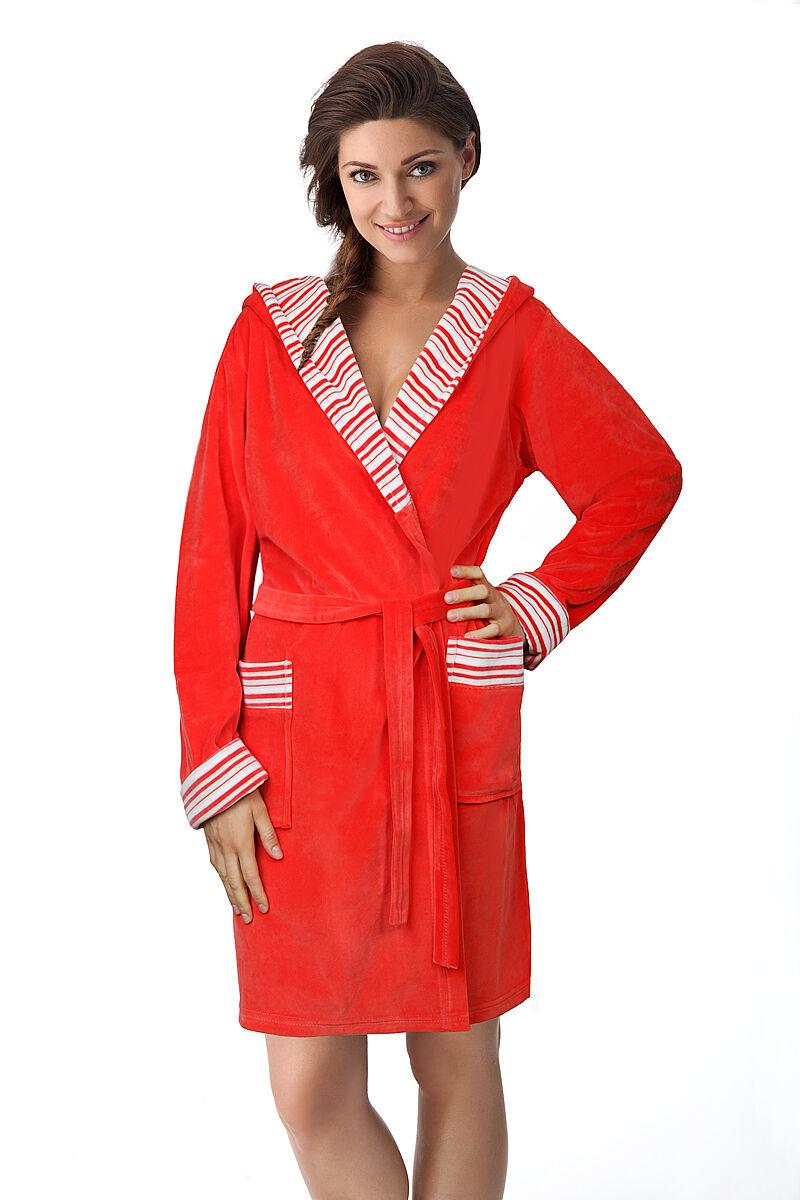 Ladies Soft Short Length Bathrobe Dressing Gown Housecoat for Women ...