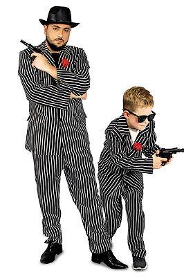Kostüm Mafiosi Gangsterkostüm 116-152,  46-54  Mafioso Boss Gangster 20er -