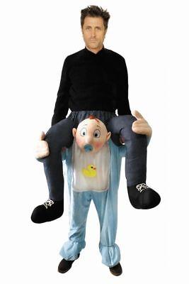 WIL - lustiges Herren Kostüm Mann sitzt auf Baby Karneval - Lustig Mann Kostüm