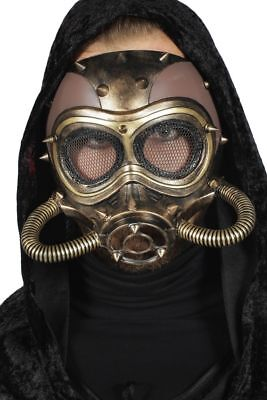 WIL - Kostüm Zubehör Maske Atemschutz Steampunk Karneval Halloween