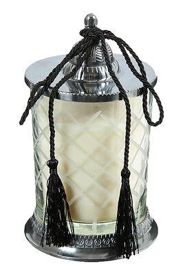 Cedar Scented Candle in a Glass Jar, Decorative Pillar Candle ()