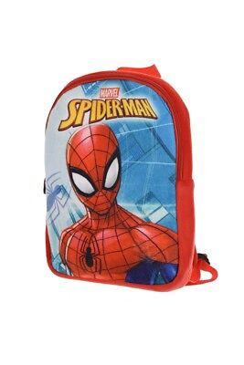 Spider-Man Rucksack für Kinder Plüsch, Spiderman Kindergarten Tasche, Marvel Neu