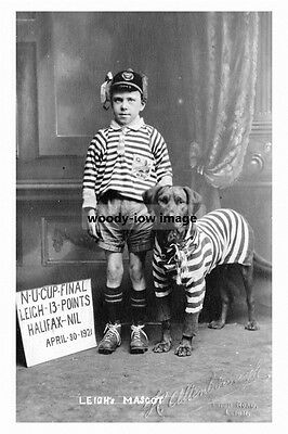 pt5365 - Leigh Rugby Team Mascots , Yorkshire - photo 6x4
