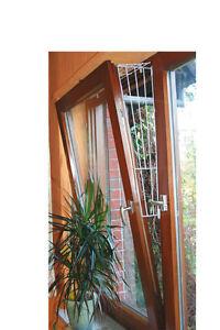 Mucki Kippfensterschutz Oberteil Katzen Fensterschutzgitter Fenstergitter