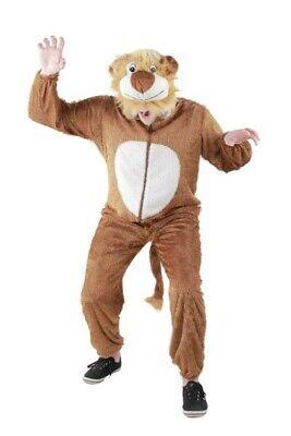 Original Foxxeo Löwenkostüm Kostüm Löwe Tierkostüm Tier Löwen braun Gr. M - XXXL