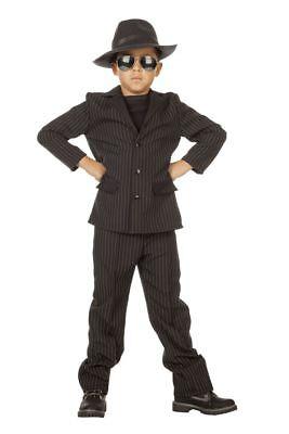 WIL - Gangster Kinder Kostüm Mafia Mafiosi Karneval Fasching